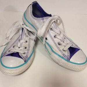 Converse Other - Converse double tongue tennis shoes size 2