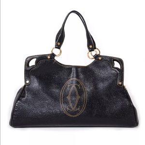 Cartier Handbags - Cartier Marcello De Cartier Large Handbag RARE HTF
