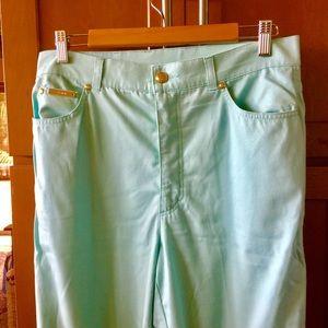 Escada Pants - Escada turquoise pants