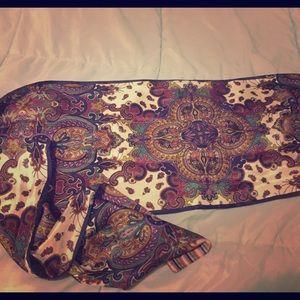 Nicole Miller silk scarf