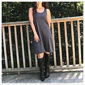 Dresses & Skirts - 🆕 Grey sleeveless swing dress RESTOCKED