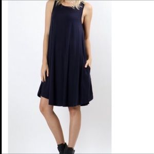 Dresses & Skirts - 🆕 Navy blue swing dress