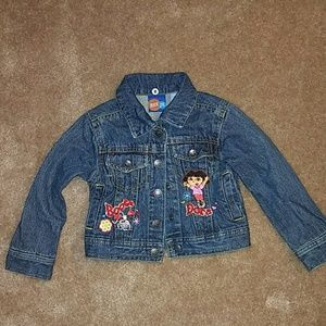 Nickelodeon Other - Dora the Explorer jean jacket 3T