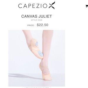 Capezio Shoes - Capezio Canvas Ballet Slippers