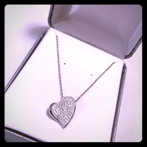 jcpenney Jewelry - Silver Heart Necklace