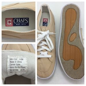 Chaps Shoes - CHAPS Mens Canvas Boat Shoe