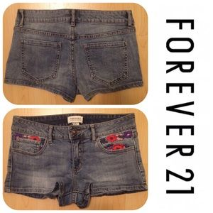 Forever 21 Pants - LIKE NEW ***FOREVER 21*** Jean Shorts Size 27!