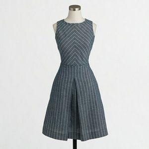 J. Crew Dresses & Skirts - J.Crew Chevron Chambray Dress