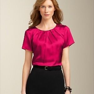 Talbots Tops - 🎉SALE 🎉 New with tags, Talbots 100% Silk Top