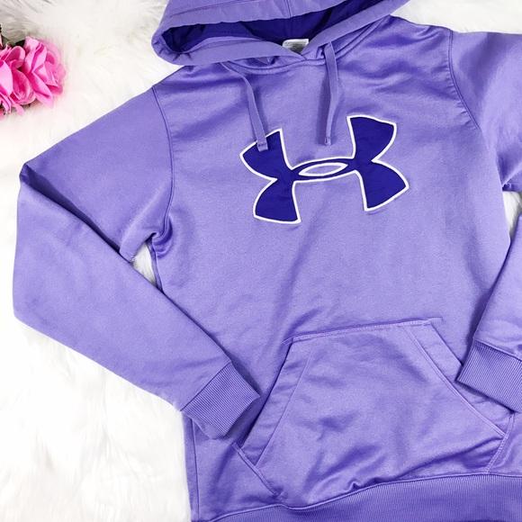 Under armour sweatshirts purple