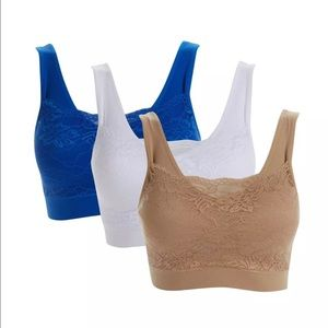 Other - 3 pack Seamless sports bras - NWOT Fits like an XL
