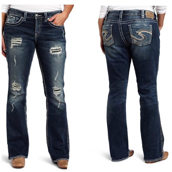 1ad3b16b Silver Jeans Jeans | Euc Frances 18 Bootcut Sz 28 | Poshmark