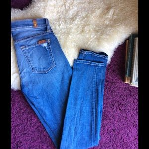 7 For All Mankind Denim - Seven 7 for all mankind skinny