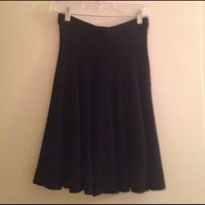 Grace Elements Dresses & Skirts - Girly ruffled black skirt