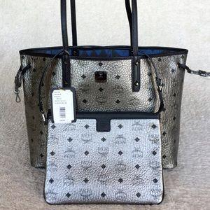 MCM Handbags - NEW MCM SHOPPER PROJECT VISETOS REVERSIBLE TOTE