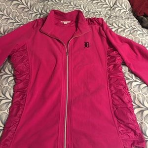 Cutter & Buck Jackets & Blazers - Hot Pink Detroit Tigers Fleece