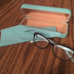 Tiffany & Co. eyeglasses.