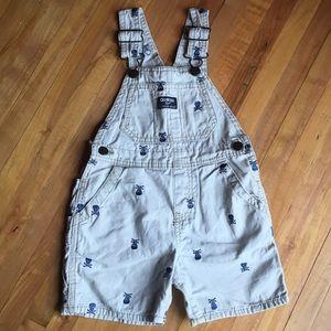 Osh Kosh Other - Oshkosh B'hosh Overalls Short  3T Toddler Boy's