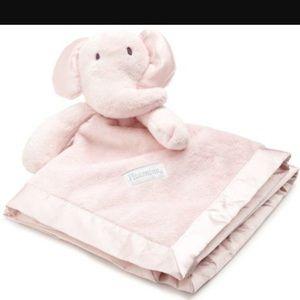 Vitamins Baby Other - Vitamins Pink Elephant Satin Blanket Buddy NWOT