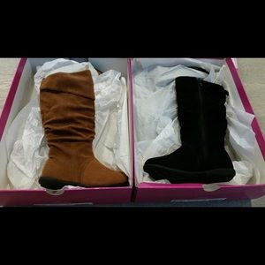 Jumping Jacks Other - Girls suede boots European size 24 = 7-7.5