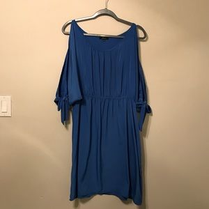 NWOT!!! Blue Soprano Elastic waist Dress