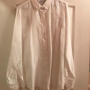 J Crew never worn white Perfect shirt 12