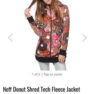 Neff Jackets & Blazers - Neff Donut fleece