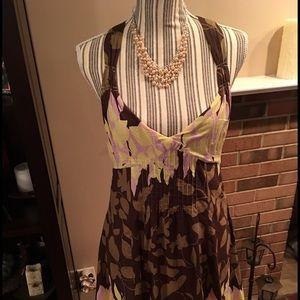 Dresses & Skirts - NWT Crisscross Halter Dress