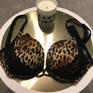 Victoria's Secret Miraculous Plunge Bra - Size 34B