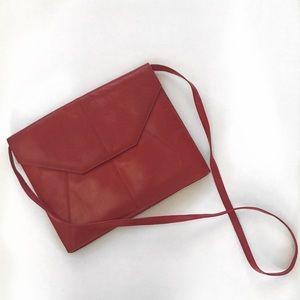 Charles Jourdan Handbags - Charles Jourdan Red Clutch