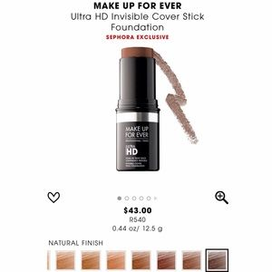 NEW MAKEUP FOREVER R540 ULTRA HD FOUNDATION STICK