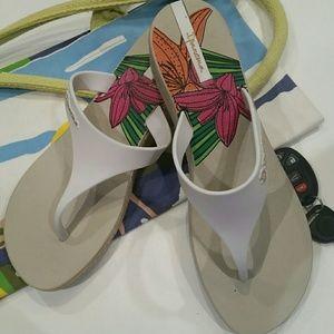 Ipanema Shoes - Ipanema Wedge Flip Flop Sandals