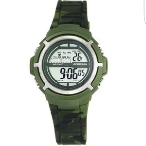 Armitron Other - Armitron Sports Camo Wristwatch with Resin Band