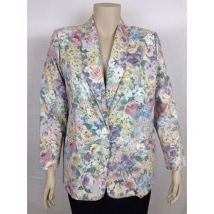 Sale ❗️Jaclyn Smith Floral Suit Blazer ✨✨