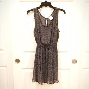 Dresses & Skirts - Navy Beige Hearts Dress