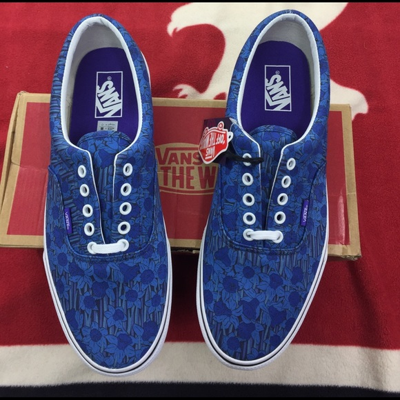 d0094525a421da Vans Era Liberty Art Collection Blue Floral