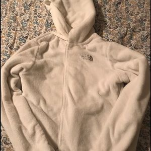 North Face Tops - North face fur zip up