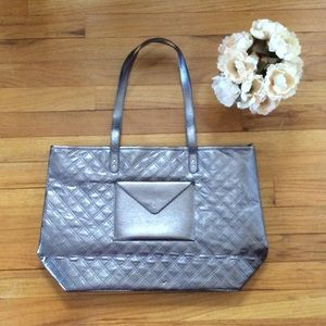 Handbags - Silver bath and body works tote