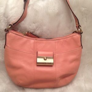 Small COACH Kristin Leather Satchel