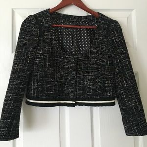 EUC Nanette Lepore crop blazer/jacket SZ 4