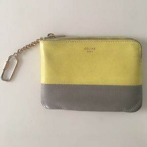 Celine card case keychain