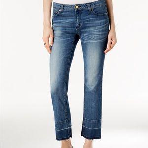 MICHAEL Michael Kors Denim - Michael Kors released hem straight leg jeans 10