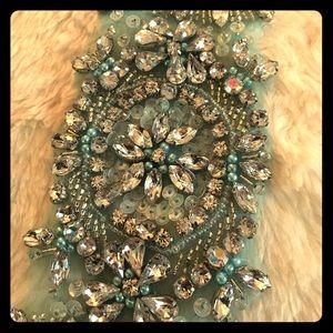 Swarovski Dresses & Skirts - Beaded appliqué sash