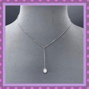 Boutique Jewelry - 💝STUNNING Silver Chain/Cubic Zirconia Pendant💝