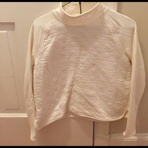 Lou & Grey mock neck sweater