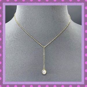 Boutique Jewelry - 💖STUNNING Gold Chain/Cubic Zirconia Pendant💖