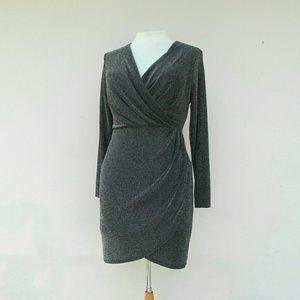 Trendy Plus Size Long Sleeve Dress Size 1X