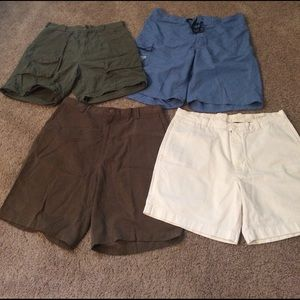 4 pair men's Sz 36 shorts