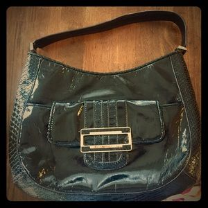 Anya Hindmarch Handbags - Anya Hindmarch for Target Black Patent Hobo.