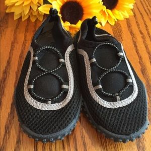Other - Boys black water shoes. Size 9-10